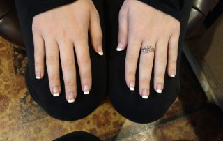 womans nails