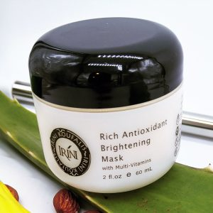 rich antioxidant brightening mask